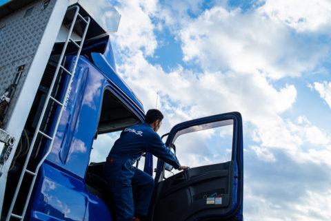 トラック車両等による配送業務大型中型ローリートラクタヘッド
